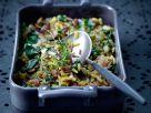 Reis mit Spinat und Rosinen Rezept
