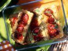 Reiskuchen mit Käse und Tomaten Rezept