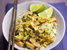 Reisnudeln mit gebratenem Tofu Rezept