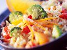 Reissalat mit Brokkoli Rezept