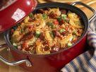 Reistopf mit Shrimps und Wurst auf kreolische Art Rezept