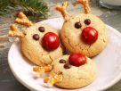 Rentier-Kekse zu Weihnachten Rezept