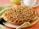 Rhabarberkuchen mit Erdbeeren Rezept