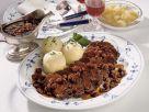 Rheinischer Sauerbraten mit Rosinen Rezept