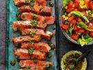 Ribeye-Steaks mit Chimichurri-Sauce Rezept