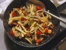 Rinder-Gemüsegeschnetzeltes Rezept