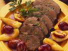 Rinderbraten mit Birnen-Zwetschgen-Soße Rezept