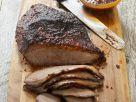 Rinderbrust vom Grill mit würziger Soße Rezept