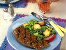 Rinderhüftsteak mit Mangoldgemüse Rezept