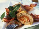 Rinderroulade mit Zwiebel-Paprika-Füllung und Bacon Rezept