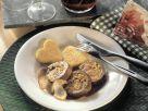 Rinderrouladen mit Steinpilzen und herzförmigen Polentaschnitten Rezept