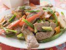 Rindfleisch-Paprika-Pfanne auf asiatische Art Rezept