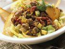 Rindfleischsalat mit Maischips Rezept