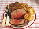 Roastbeef und Yorkshire Pudding Rezept