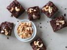 Rohkost-Brownies mit Cashewkernen Rezept