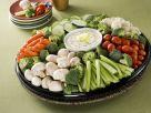 Rohkost-Gemüse mit Quarkdip Rezept