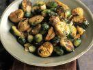 Rosenkohl-Maronen-Gemüse Rezept