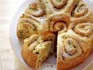 Rosenkuchen mit Apfel und Ingwer Rezept