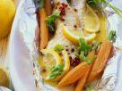 Rotbarsch mit Gemüse in Folie Rezept