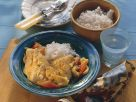 Rotbarschfilet mit Gemüse in Currysauce Rezept