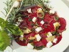 Rote Bete Salat mit Frischkäse Rezept