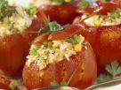 Rote Paprika mit Reis gefüllt Rezept