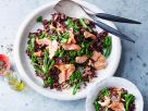 Roter Reis mit Lachs Rezept