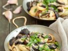 Rotkappen mit Kartoffeln und Knoblauch Rezept