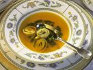 Safran-Bouillon mit Flädle Rezept