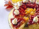 Sahne-Fruchttorte Rezept