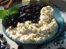 Sahnemilchreis mit Heidelbeeren Rezept