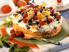 Sahnetorte mit Obst und Amaretti Rezept