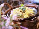 Salat aus eingelegten Pilzen Rezept
