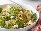 Salat aus Rucola, Quinoa und Ziegenkäse Rezept