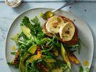 Salat mit Avocado und Käse Rezept