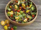 Salat mit bunten Tomaten Rezept
