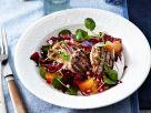 Salat mit Clementinen und Lamm Rezept