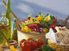 Salat mit essbaren Blüten Rezept
