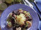 Salat mit Fischröllchen Rezept