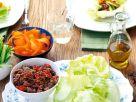 Salat mit Hack Rezept
