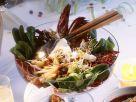 Salat mit Käse Rezept