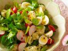 Salat mit Wachteleiern Rezept