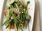 Salat von grünen Bohnen im Asia-Stil Rezept
