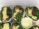 Salat-Wraps Rezept