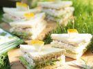 Sandwich mit Avocado und Frischkäse Rezept
