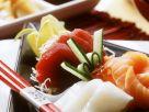 Sashimi mit verschiedenem Fisch Rezept