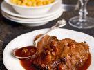 Sauerbraten mit Lebkuchen-Rosinen-Sauce Rezept