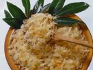 Sauerkraut mit Karotten Rezept
