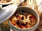 Sauerkraut-Würstchen-Topf mit geräucherter Entenbrust Rezept