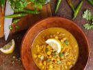 Scharfe Mais-Zwiebel-Suppe Rezept